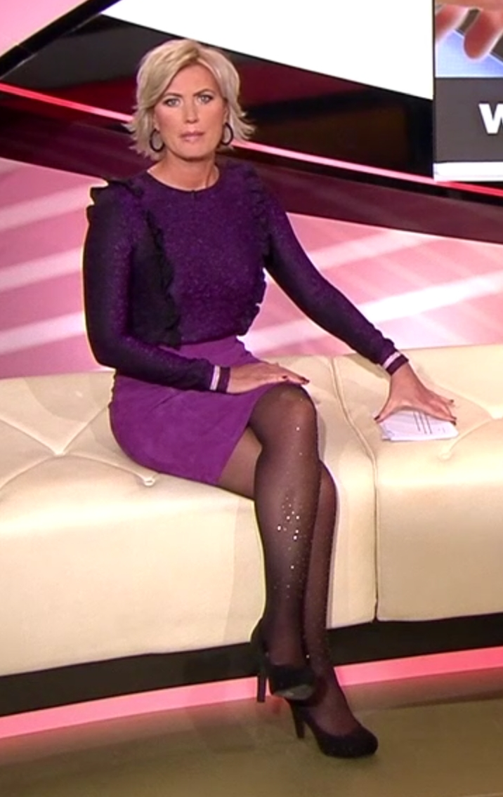 Trägt BRISANT-Moderatorin Kamilla Senjo Strumpfhosen